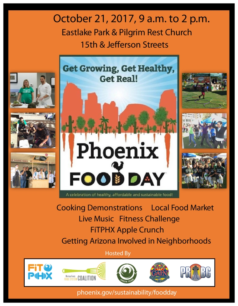 Phoenix Food Day 2017 Flyer 03.23.17